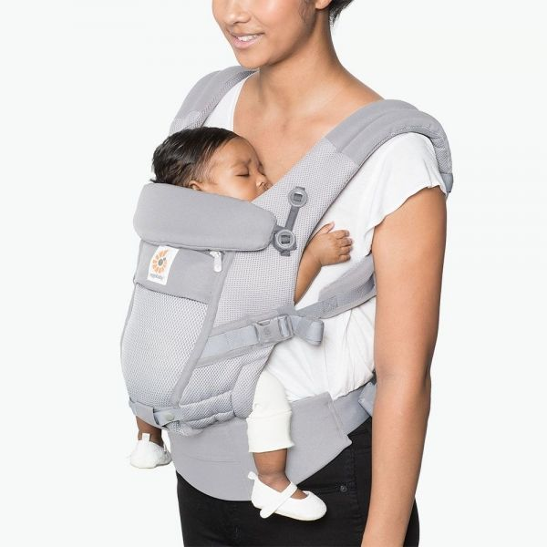 ADAPT COOL AIR MESH - Pearl Grey Ergobaby