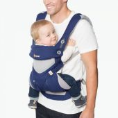 360 NOSÍTKO COOL AIR|French Blue Ergobaby