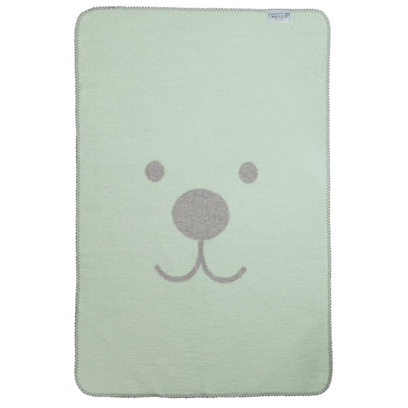 Meyco Deka 75x100 cm Animal mint - grey