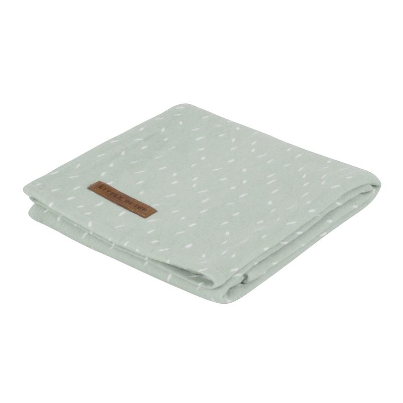 Little Dutch Swaddle 120x120 SPRINKLES GREY