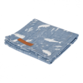Little Dutch Swaddle 120x120 Ocean Blue