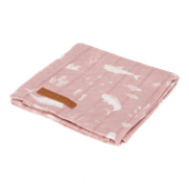 Little Dutch Swaddle 120x120 Ocean Pink