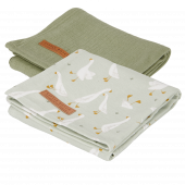 Little Dutch pleny swaddle 70x70 Husa 2ks
